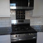 front facing kitchen stove